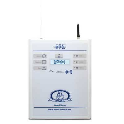 allarme centrale operativa blue lock